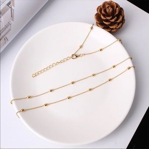 Jewelry - Gold plated waist Chain